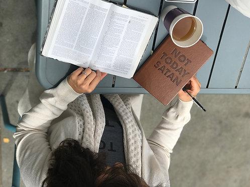 Not Today Satan Journal