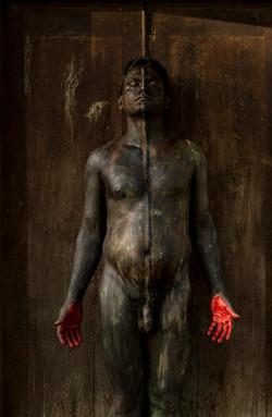 Bodypaintography: 'Wooden Door'