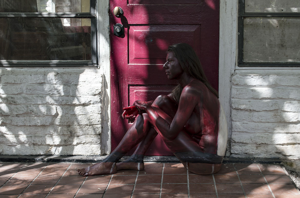 Bodypaintography: 'Front Door.'