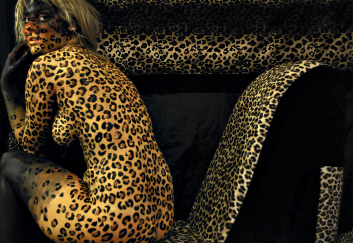 'Leopard Chair'