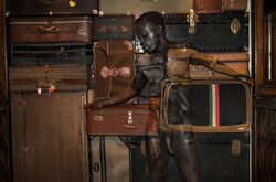 Bodypaintography: 'Suitcases.'