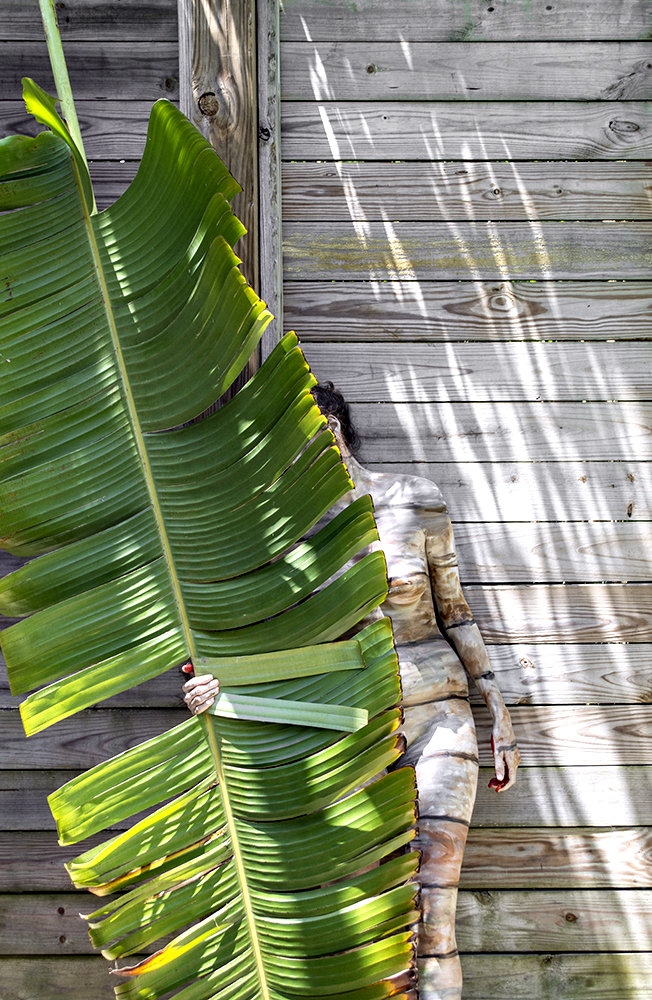 Bodypaintography: 'Palm Leaf'