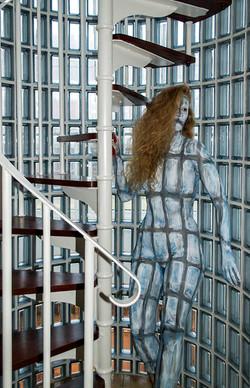 Bodypaintography: 'Glass Bricks'
