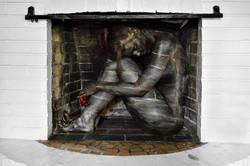 Bodypaintography: 'Fireplace.'