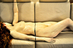 'Leather Couch'