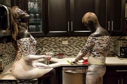 Bodypaintography: 'Kitchen.'