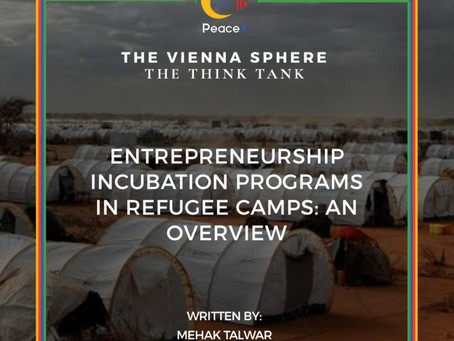Entrepreneurship Incubation Programs in Refugee Camps: An Overview