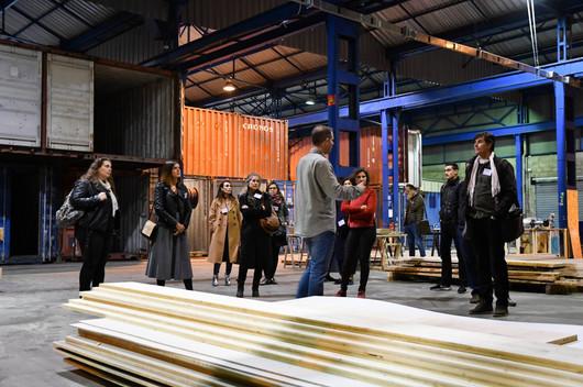 Afterwork DecoWorkers à ICI Marseille - Visite des ateliers bois