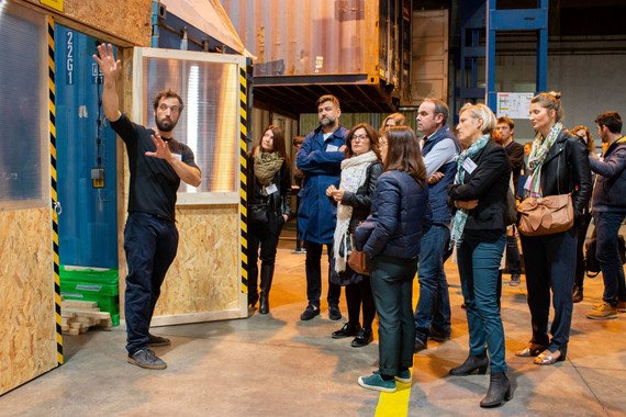 Afterwork DecoWorkers à ICI Marseille - Visite de la plus grande manufacture collaborative d'Europe