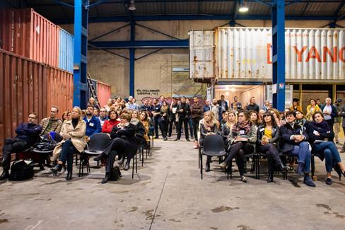 Afterwork DecoWorkers à ICI Marseille - assemblée de professionnels archi deco design