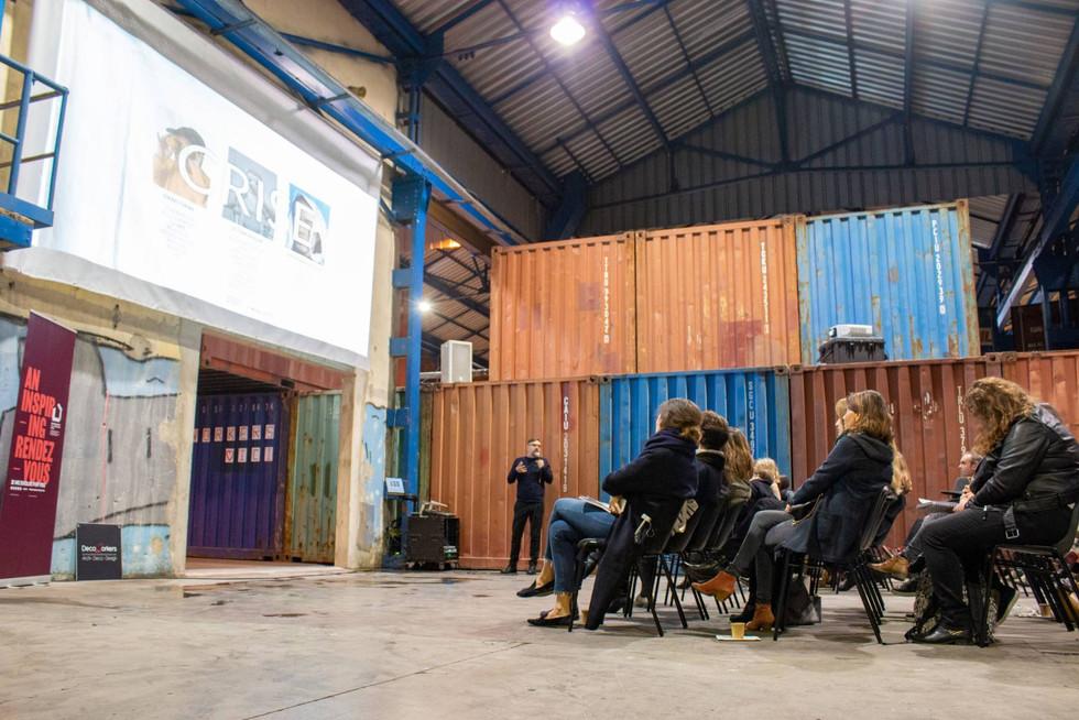 Afterwork DecoWorkers à ICI Marseille - intervention de Vincent Grégoire pour NellyRodi présentant VIRTUOUS