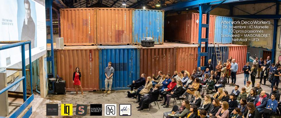 Afterwork DecoWorkers à ICI Marseille - 100 pros archi deco design