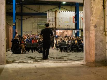 Afterwork DecoWorkers à ICI Marseille - David Ben Haïm présente les lieux à la communauté pro archi deco design