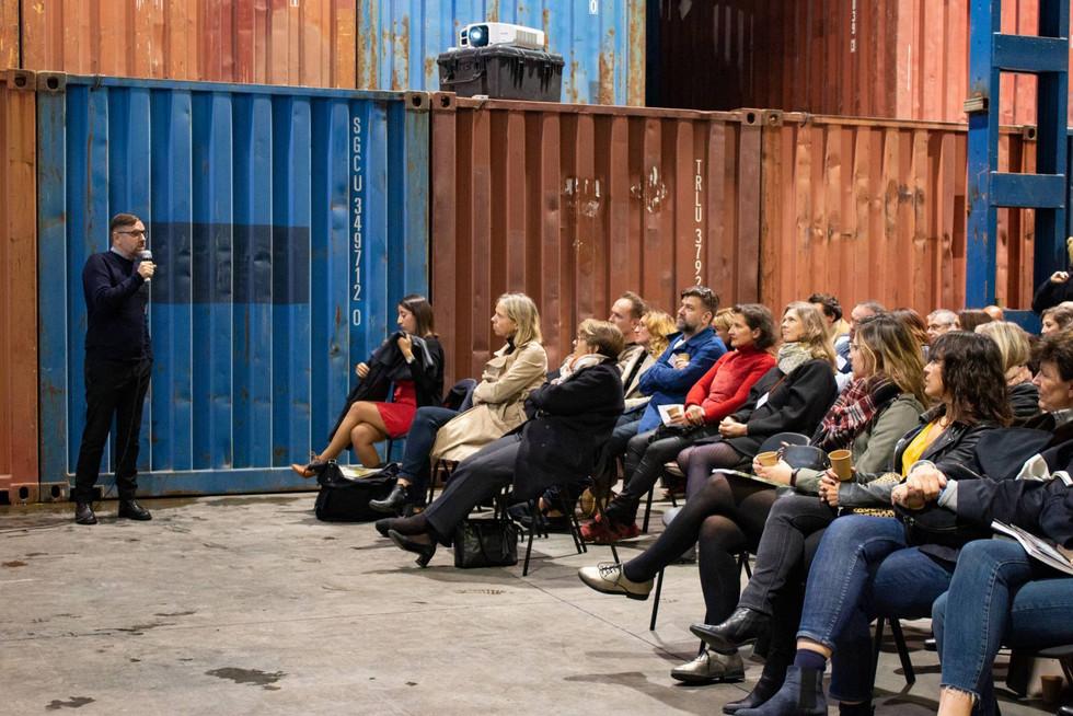 Afterwork DecoWorkers à ICI Marseille - Nelly Rodi représenté par Vincent Grégoire pour la communauté archi deco design