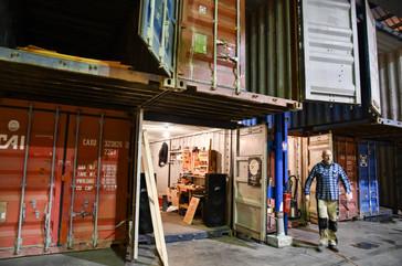Afterwork DecoWorkers à ICI Marseille - atelier d'artisan dans un container