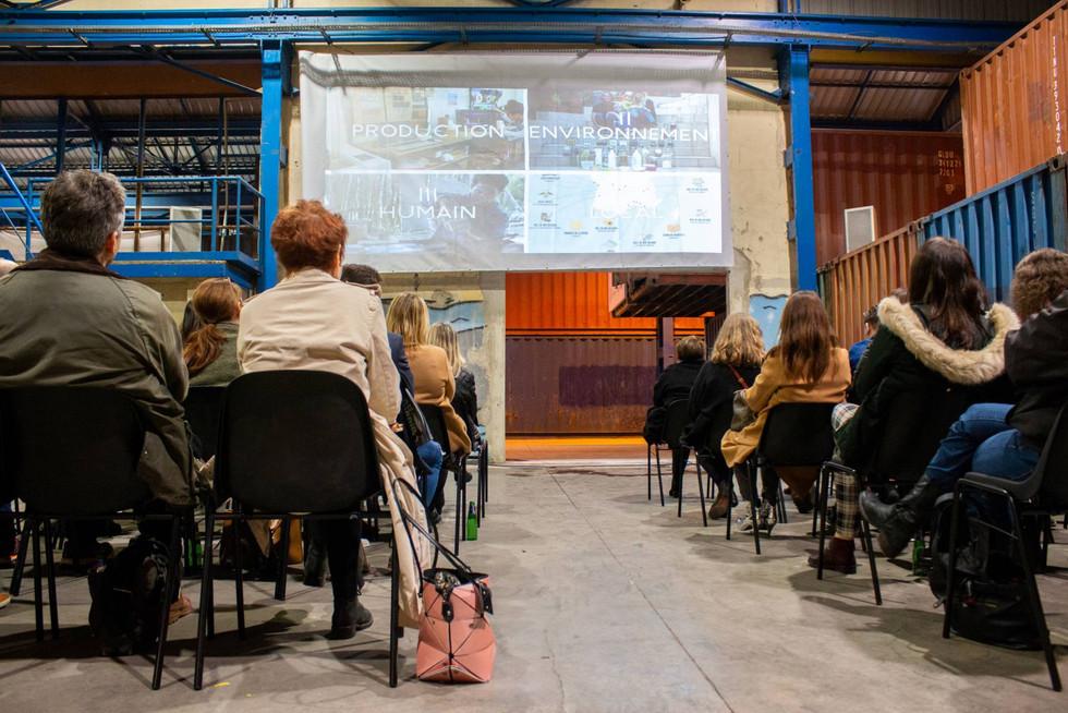 Afterwork DecoWorkers à ICI Marseille - présentation de Virtuous Nelly Rodi pour 100 pros passionnés