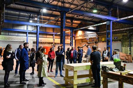 Afterwork DecoWorkers à ICI Marseille - Visite de la plus grande manufacture collaborative et solidaire d'Europe