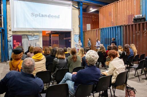 Afterwork DecoWorkers à ICI Marseille - présentation de Splandeed par Coralie Vasseur, plateforme web archi deco design