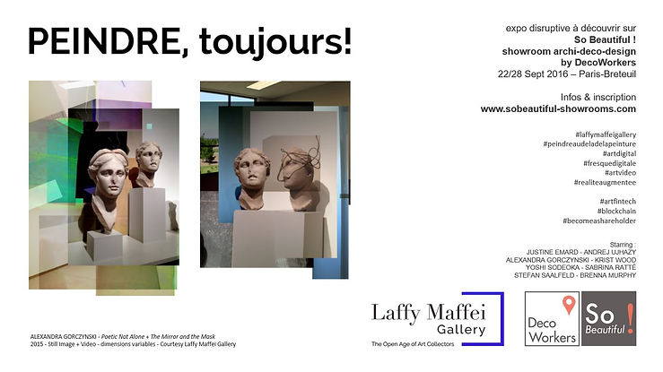 Expo PEINDRE, toujours ! Gallery Laffy Maffei sur So Beautiful!