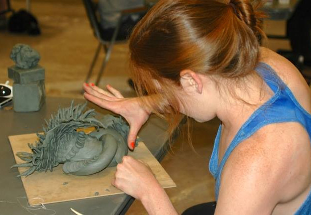Weehawken hosts the Annual Amateur Sculpting Contest every June in Ridgway