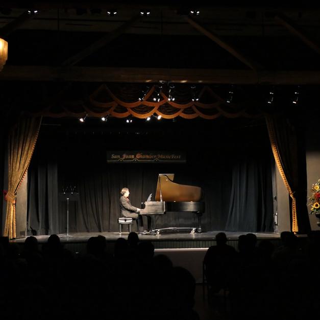 Max Levinson @ San Juan Chamber Music Fest