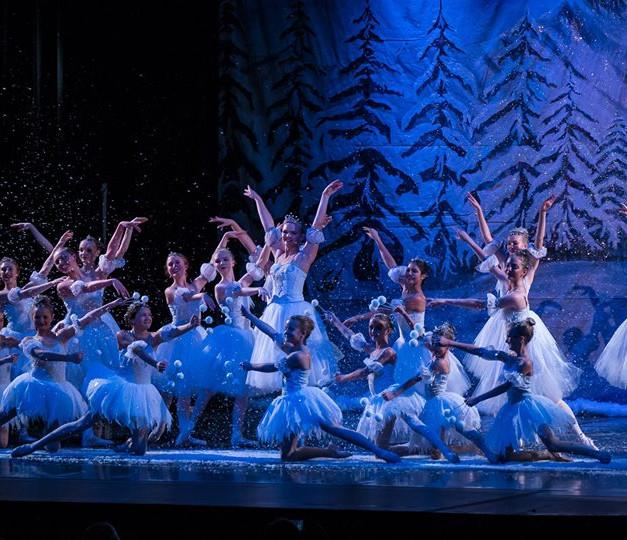 Weehawken Dance Snow Scene