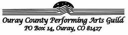 Ouray County Performing Arts Guild Logo