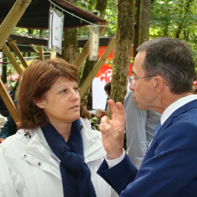 Madame Mireille CALMEL & Monsieur Bruno RETAILLEAU