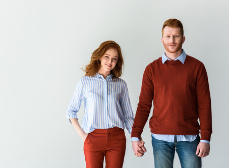 Why is it strange for redheads to date each other?