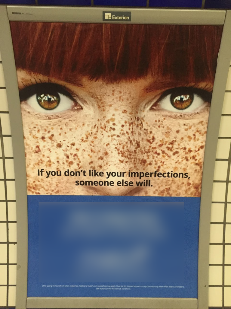 Dating site offends redheads with poster campaign