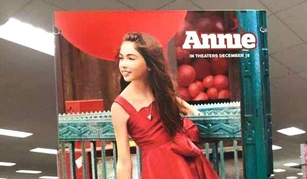 Controversial Target Annie poster