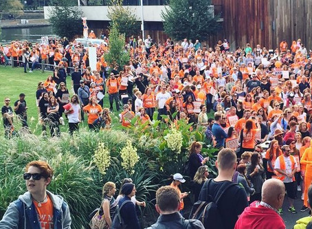 Australia has its first Ginger Pride rally