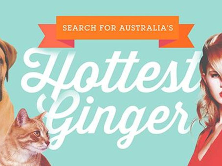 Australia's Hottest Ginger, a contest celebrating flame-haired beauty