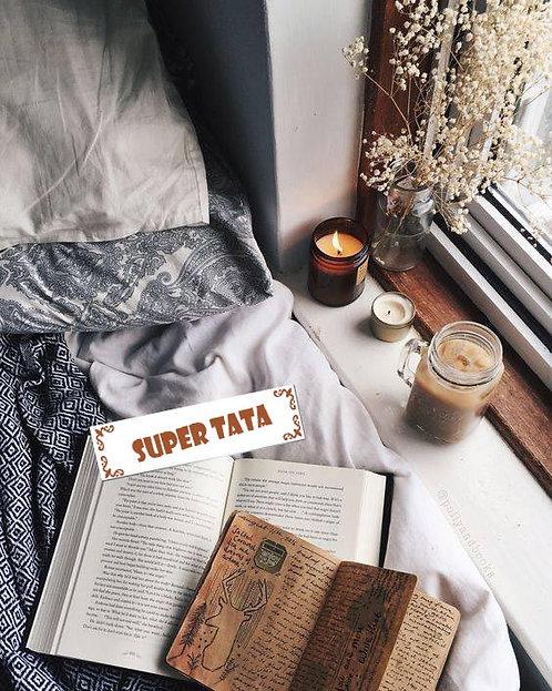 Marque-pages - Super Tata ou Super Tonton -