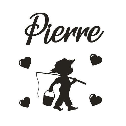 Sticker Chambre - Thème Petit Pêcheur