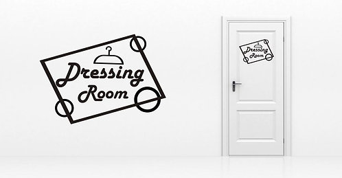 Sticker Dressing Room 1