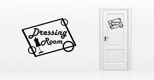 Sticker Dressing Room 2