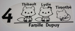 Bal Famille Renards