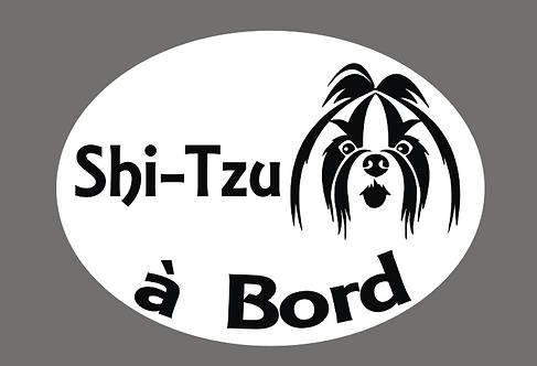 Shi-Tzu à Bord - Personnalisation possible