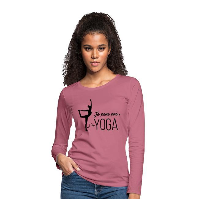 Je peux pas j'ai Yoga