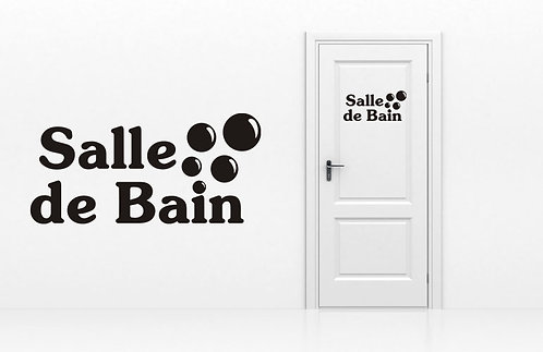 Sticker Salle de Bain 4