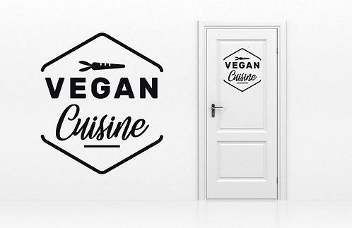 Sticker Cuisine Vegan