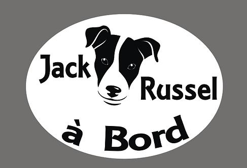 Jack Russel à Bord - Personnalisation possible