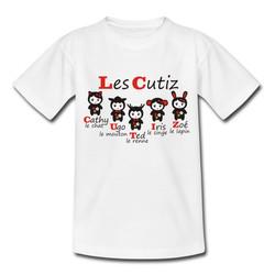 T-shirt Cutiz rouge
