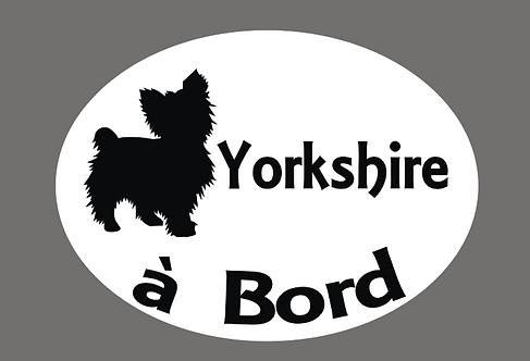 Yorkshire à Bord - Personnalisation possible