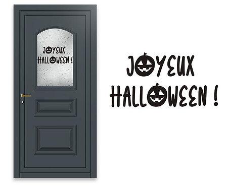 Sticker  Joyeux Halloween