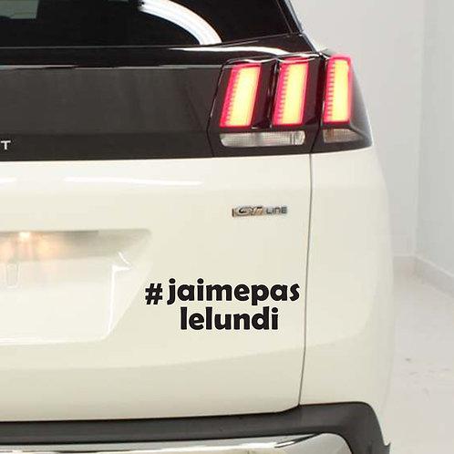 Sticker  #Hashtag - Catégorie: Semaine