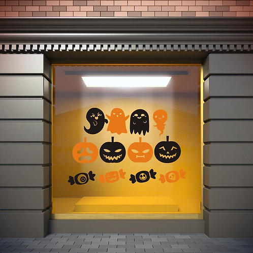 Stickers Halloween Planche 1