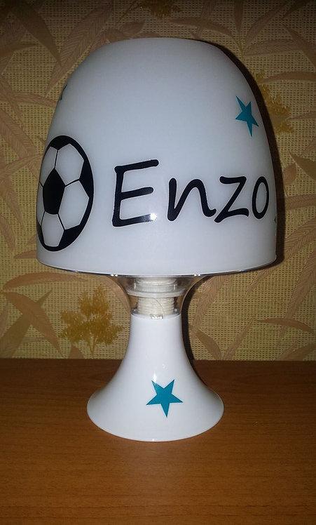 Lampe Personnalisée - Thème Ballon de Foot
