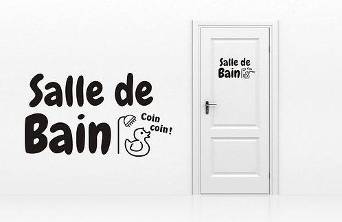 Sticker Salle de Bain 3